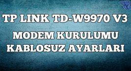 tp-link-tdw9970-modem-kurulumu