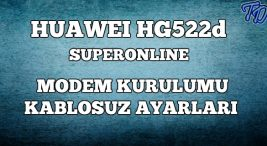huawei-hg-522d-modem-kurulumu