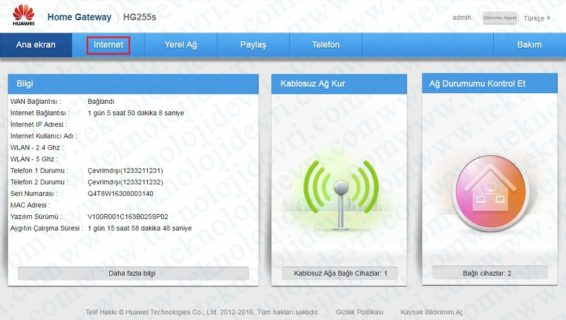 huawei-hg255s-modem-kablosuz-ayarları