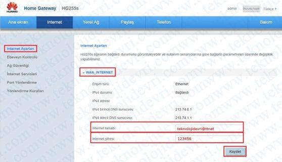 huawei-hg255s-modem-şifresi