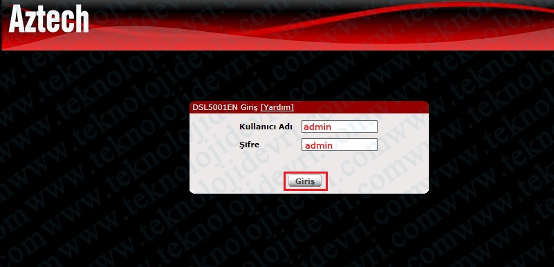 aztech-dsl-5001en-modem-kurulumu