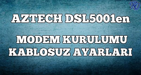 aztech-dsl-5001en