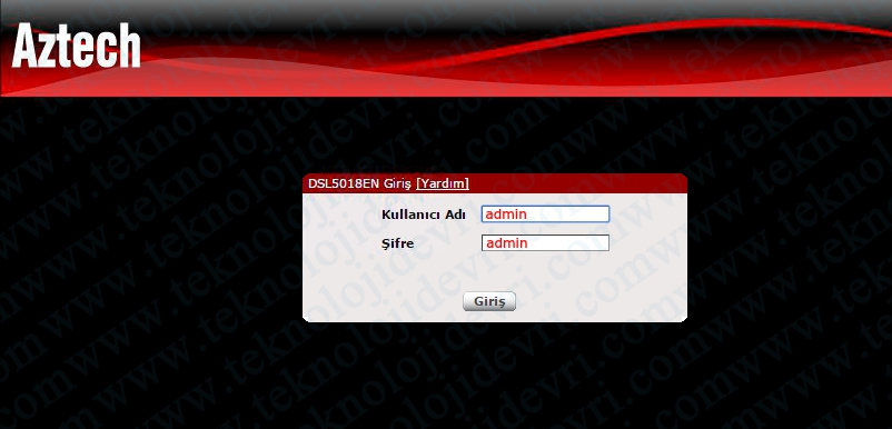 aztech-dsl-5018en-modem-kurulumu