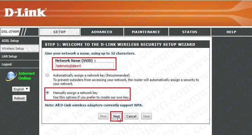 dlink-dsl-2740r-modem-kablosuz-ayarlari