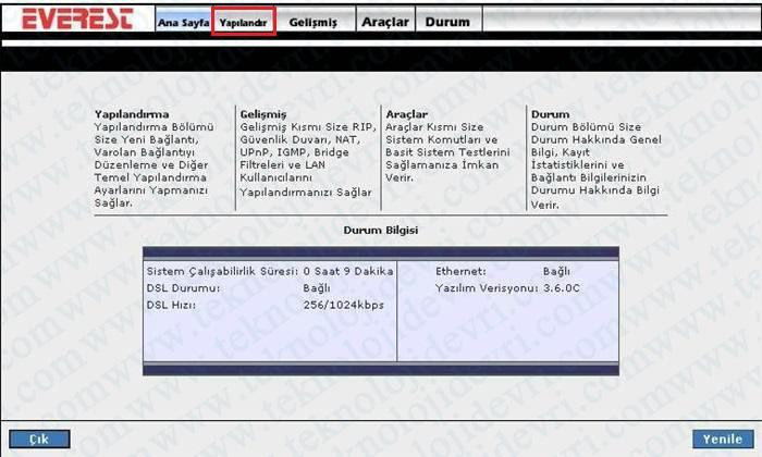 everest-sg1400-modem-kablosuz-ayarlari