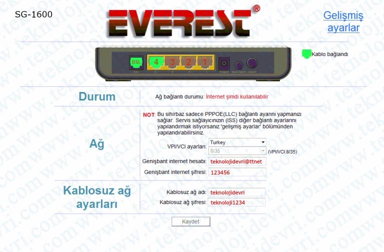 everest-sg1600-modem-ayarlari