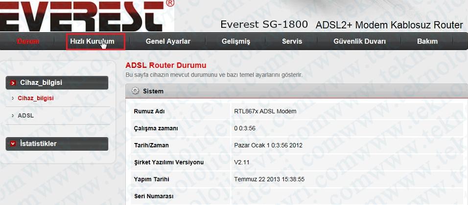 everest-sg1800-modem-kopma-sorunu