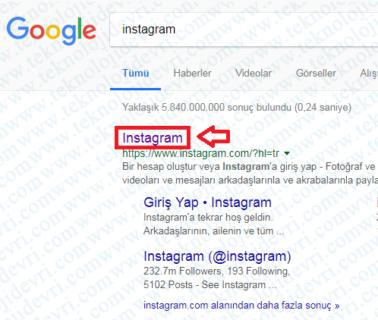 instagram hesap-acma