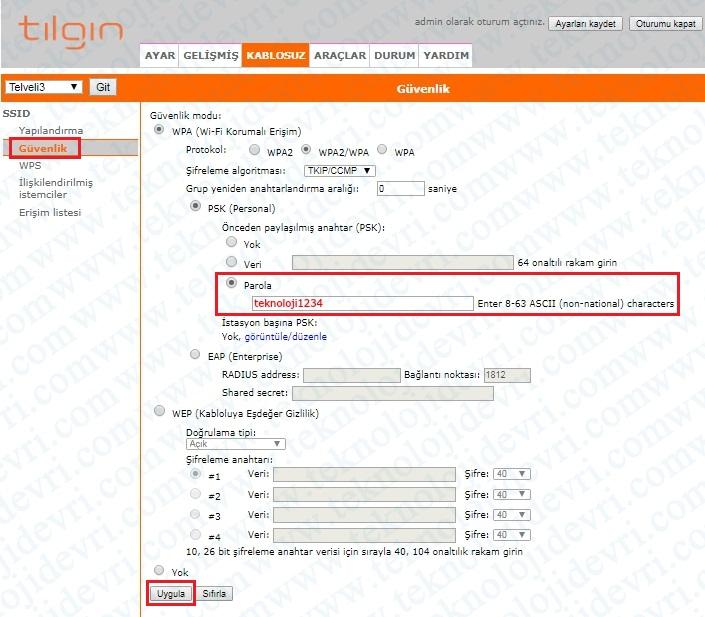 tilgin-hg2331-modem-port-yonlendirme