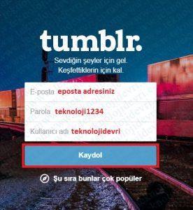tumblr-hesap-acma