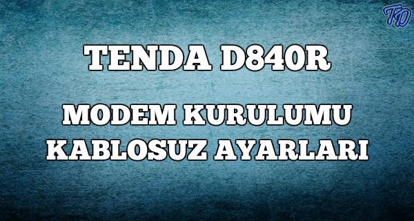 tenda-d840r