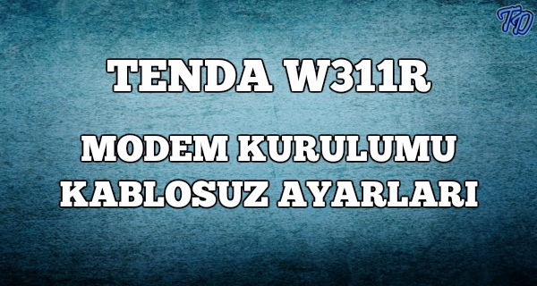 tenda-w311r
