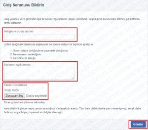 facebook-kullandigin-baglanti-gecersiz