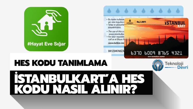 İstanbulKart'a HES Kodu Nasıl Eklenir?
